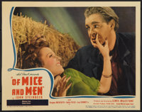 "Of Mice and Men (United Artists, 1939). Lobby Card (11"" X 14""). Drama"