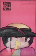 """Movie Posters:Western, The Last Sunset (CWF, 1966). Polish One Sheet (22.5"""" X 35.25""""). Western.. ..."""
