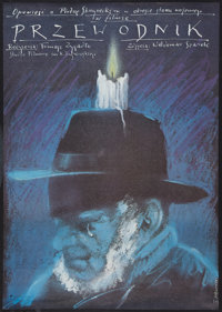 "The Guide Man and Other Lot (Polfilm, 1983). Polish One Sheets (3) (26"" X 36.5"" and 26.5"" X 38"") A a..."
