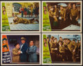 "Movie Posters:Comedy, Buck Privates Come Home and Other Lot (Universal International, 1947). Lobby Cards (4) (11"" X 14""). Comedy.. ... (Total: 4 Items)"