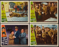 "Buck Privates Come Home and Other Lot (Universal International, 1947). Lobby Cards (4) (11"" X 14""). Comedy..."