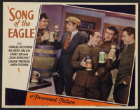 """Song of the Eagle (Paramount, 1933). Lobby Card (11"""" X 14""""). Crime"""