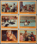"""Movie Posters:Western, Cheyenne Autumn (Warner Brothers, 1964). Lobby Cards (6) (11"""" X 14""""). Western.. ... (Total: 6 Items)"""