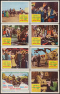 "Movie Posters:Western, Two Rode Together (Columbia, 1961). Lobby Card Set of 8 (11"" X 14""). Western.. ... (Total: 8 Items)"