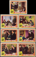 "Movie Posters:Crime, The Great Swindle (Columbia, 1941). Lobby Cards (7) (11"" X 14""). Crime.. ... (Total: 7 Items)"