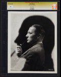 "Movie Posters, Clive Brook (Paramount, 1930s). CGC Graded Portrait Photo (8"" X 10"").. ..."