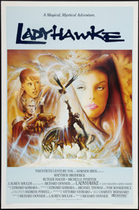 "Ladyhawke (Warner Brothers, 1985). One Sheets (2) (27"" X 40"" and 27"" X 41""). SS Regular, Rolled, and..."