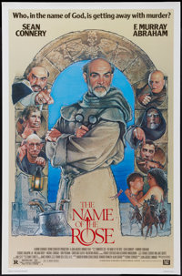 """The Name of the Rose (20th Century Fox, 1986). One Sheet (27"""" X 41""""). Mystery"""