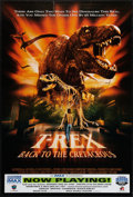 "Movie Posters:Adventure, T-Rex: Back to the Cretaceous & Other Lot (IMAX, 1998). OneSheet (27"" X 40"") & Video Poster (27"" X 39.5""). DS & SS.Adventu... (Total: 2 Items)"