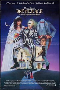 "Beetlejuice (Warner Brothers, 1988). One Sheet (27"" X 40""). Comedy"