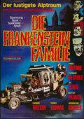 "Movie Posters:Comedy, Munster, Go Home (Universal, R-1973). German A1 (23.25"" X 33""). Comedy.. ..."