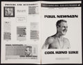 "Movie Posters:Drama, Cool Hand Luke (Warner Brothers, 1967). Uncut Pressbook (20 Pages, 11"" X 17""). Drama.. ..."