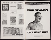 """Cool Hand Luke (Warner Brothers, 1967). Uncut Pressbook (20 Pages, 11"""" X 17""""). Drama"""