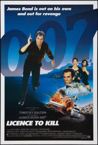 "Licence to Kill (United Artists, 1989). International One Sheet (27"" X 40""). James Bond"