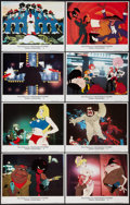 "Movie Posters:Animated, Coonskin (Bryanston, 1975). Lobby Card Set of 8 (11"" X 14""). Animated.. ... (Total: 8 Items)"