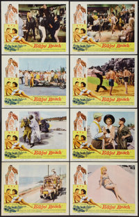 "Bikini Beach (American International, 1964). Lobby Card Set of 8 (11"" X 14""). Comedy. ... (Total: 8 Items)"