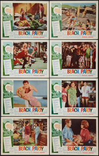 "Beach Party (American International, 1963). Lobby Card Set of 8 (11"" X 14""). Comedy. ... (Total: 8 Items)"