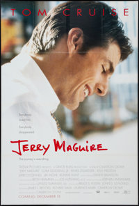 "Jerry Maguire & Other Lot (Tri-Star, 1996). One Sheets (2) (26.5"" X 39.75"" & 26.75"" X 39..."