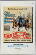 "Movie Posters:Western, The Great Northfield, Minnesota Raid (Universal, 1972). One Sheet (27"" X 41""). Western.. ..."
