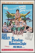 "Movie Posters:Elvis Presley, Paradise -- Hawaiian Style (Paramount, 1966). One Sheet (27"" X 41""). Elvis Presley.. ..."