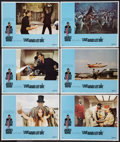 "Movie Posters:James Bond, Live and Let Die (United Artists, 1973). Lobby Cards (6) (11"" X 14""). James Bond.. ... (Total: 6 Items)"