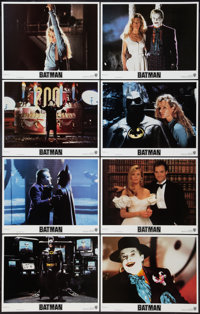 "Batman (Warner Brothers, 1989). Lobby Card Set of 8 (11"" X 14""). Action. ... (Total: 8 Items)"