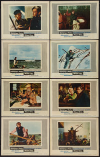 "Moby Dick (Warner Brothers, 1956). Lobby Card Set of 8 (11"" X 14""). Adventure. ... (Total: 8 Items)"
