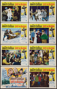"Lost in Alaska (Universal International, 1952). Lobby Card Set of 8 (11"" X 14""). Comedy. ... (Total: 8 Items)"