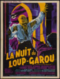 """Movie Posters:Horror, Curse of the Werewolf (Universal International, 1961). French Affiche (23.5"""" X 31""""). Horror.. ..."""
