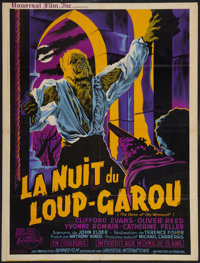 "Curse of the Werewolf (Universal International, 1961). French Affiche (23.5"" X 31""). Horror"