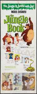 "Movie Posters:Animated, The Jungle Book (Buena Vista, 1967). Insert (14"" X 36""). Animated....."