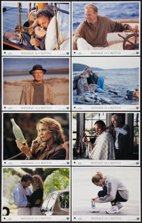 "Message in a Bottle & Other Lot (Warner Brothers, 1999). International Lobby Card Sets of 8 (2) (11"" X 14""..."