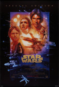 "Movie Posters:Science Fiction, Star Wars (20th Century Fox, R-1997). Special Addition One Sheet (27"" X 40"") DS Advance. Science Fiction.. ..."