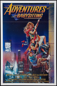 """Adventures in Babysitting & Other Lot (Touchstone, 1987). One Sheets (2) (27"""" X 41""""). Adventure. ... (Tota..."""