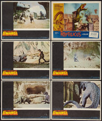 """The Valley of Gwangi and Other Lot (Warner Brothers, 1969). Lobby Cards (6) (11"""" X 14""""). Science Fiction..."""