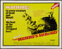 "The Mummy's Shroud (20th Century Fox, 1967). Half Sheet (22"" X 28""). Horror"