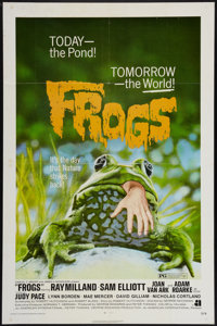 "Frogs (American International, 1972). One Sheet (27"" X 41""). Horror"