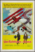 "Movie Posters:War, Von Richthofen and Brown (United Artists, 1971). One Sheet (27"" X 41""). War.. ..."