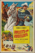 "Movie Posters:Western, Bullets for Rustlers & Other Lot (Columbia, R-1952). One Sheets (2) (27"" X 41""). Western.. ... (Total: 2 Items)"