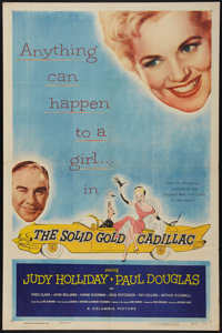"""The Solid Gold Cadillac (Columbia, 1956). One Sheet (27"""" X 41""""). Comedy"""