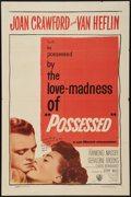 "Movie Posters:Film Noir, Possessed (Warner Brothers, 1947). One Sheet (27"" X 41""). Film Noir.. ..."