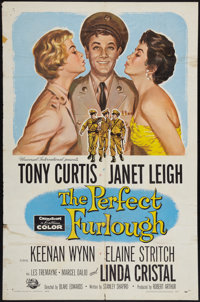 "The Perfect Furlough & Other Lot (Universal International, 1959). One Sheets (2) (27"" X 41""). Comedy..."