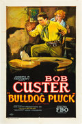"Movie Posters:Western, Bulldog Pluck (FBO, 1927). One Sheet (27"" X 41"") Style A.. ..."