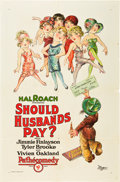 "Movie Posters:Comedy, Should Husbands Pay? (Pathé, 1926). One Sheet (27"" X 41"").. ..."