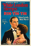 """Movie Posters:Action, While London Sleeps (Warner Brothers, 1926). One Sheet (27"""" X 41"""") Style A.. ..."""