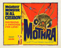 "Movie Posters:Science Fiction, Mothra (Columbia, 1962). Half Sheet (22"" X 28"").. ..."
