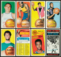 Basketball Cards:Lots, 1961-1971 Topps & Fleer Basketball Collection (250+). ...
