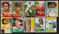 Baseball Cards:Lots, 1950's-1980's Baseball Card Collection (41) Plus '84 Topps Set. ...