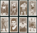 "Boxing Cards:General, 1938 Churchman ""Boxing Personalities"" Complete Set (50). ..."