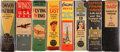 Golden Age (1938-1955):Miscellaneous, Big Little Book Aviation/Naval Group (Whitman, 1934-46) Condition: Average FN/VF.... (Total: 8 Comic Books)